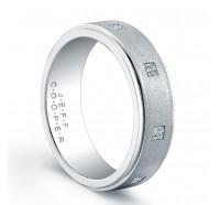 Jeff Cooper R4021P Mens Wedding Ring