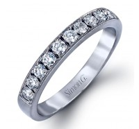 Simon G LP1072B Wedding Ring