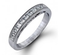 Simon G LP1220B Wedding Ring