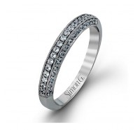Simon G MR1439B Wedding Ring