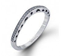 Simon G MR1691B Wedding Ring