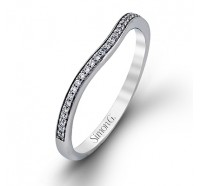 Simon G MR1709B Wedding Ring