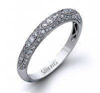 Simon G MR1834B Wedding Ring