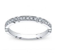 Simon G NR130B Wedding Ring