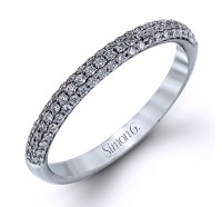 Simon G TR431B Wedding Ring