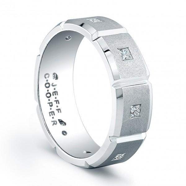 Jeff Cooper R3070 Mens Wedding Ring