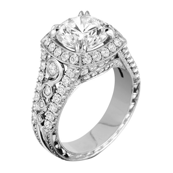 diamond stone any rings side can in stylish platinum size wedding with bkuztaj ordered ring three diamonds promise be