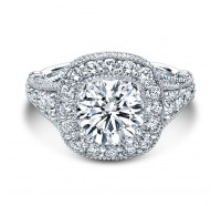 Christopher Designs  G38-CURD Engagement Ring