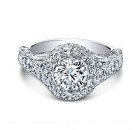 Christopher Designs  G38-RD Engagement Ring