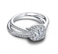 Jeff Cooper  RP1554RD Engagement Ring