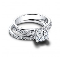 Jeff Cooper  RP1604RD Engagement Ring