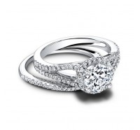 Jeff Cooper  RP1618RD Engagement Ring