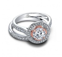 Jeff Cooper  RP1664RD Engagement Ring