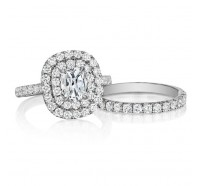 Henri Daussi  WBSR Wedding Ring