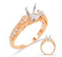 Genesis Designs  7608 Engagement Ring