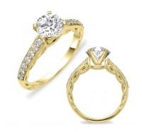 Genesis Designs  7610 Engagement Ring