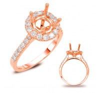 Genesis Designs  7694 Engagement Ring