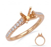 Genesis Designs  7743 Engagement Ring