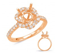 Genesis Designs  7923 Engagement Ring
