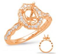 Genesis Designs  7948 Engagement Ring