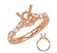Genesis Designs  8055 Engagement Ring