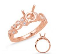 Genesis Designs  8061 Engagement Ring