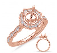 Genesis Designs  8070 Engagement Ring