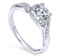 Genesis Designs  ER11828 Engagement Ring