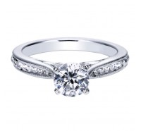 Genesis Designs  ER8007 Engagement Ring