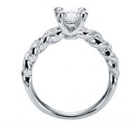 Genesis Designs  W-ER4022 Engagement Ring
