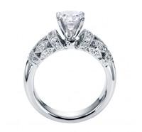 Genesis Designs  W-ER5514 Engagement Ring