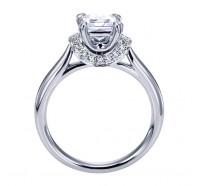 Genesis Designs  W-ER6966 Engagement Ring