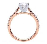 Genesis Designs  W-ER7227 Engagement Ring