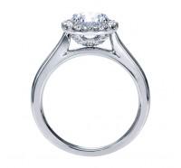 Genesis Designs  W-ER7265 Engagement Ring