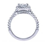 Genesis Designs  W-ER7492 Engagement Ring