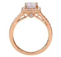 Genesis Designs  W-ER7527 Engagement Ring
