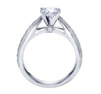 Genesis Designs  W-ER7535 Engagement Ring