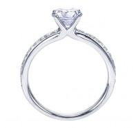 Genesis Designs  W-ER7537 Engagement Ring