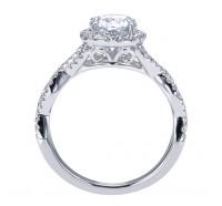 Genesis Designs  W-ER7543 Engagement Ring