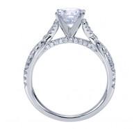 Genesis Designs  W-ER7544 Engagement Ring