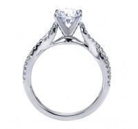 Genesis Designs  W-ER7805 Engagement Ring