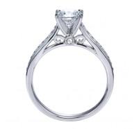Genesis Designs  W-ER8018 Engagement Ring