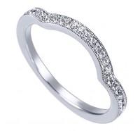 Genesis Designs  WB6431 Wedding Ring