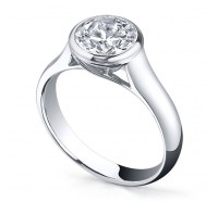 Classic Solitaire  Gen183 Engagement Ring