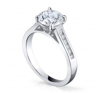 Classic Solitaire  Gen197 Engagement Ring