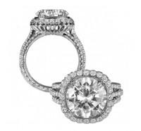Jack Kelege  KGR1025LG Engagement Ring