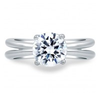 A.JAFFE MES675 Engagement Ring
