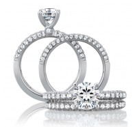 A.JAFFE MR1555 Wedding Ring