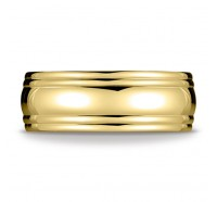 14K Gold 7.5mm Comfort Fit Classic Wedding Band