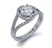 Simon G  CR131 Engagement Ring